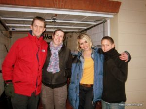 Billie Piper and some friends ...