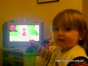Amy and the Telly